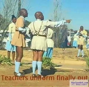 When Government Says Teachers Must Wear Uniform (Funny Photo)